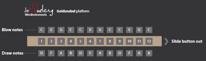 Goldsnabel voicings - slide out