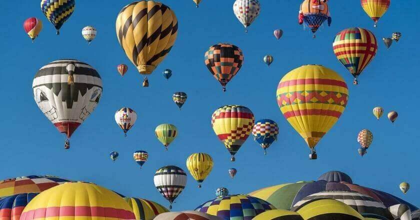 Consejos para volar en globo
