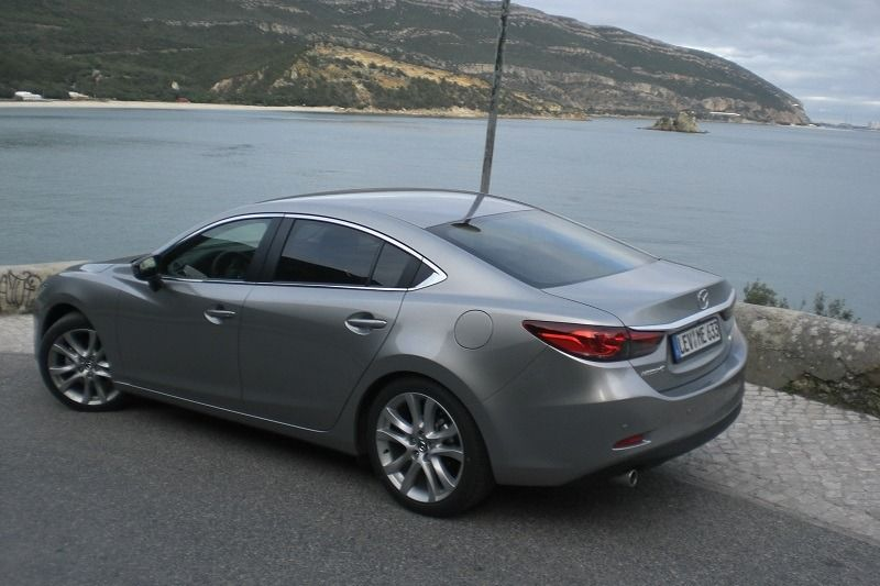 Mazda 6 Heck