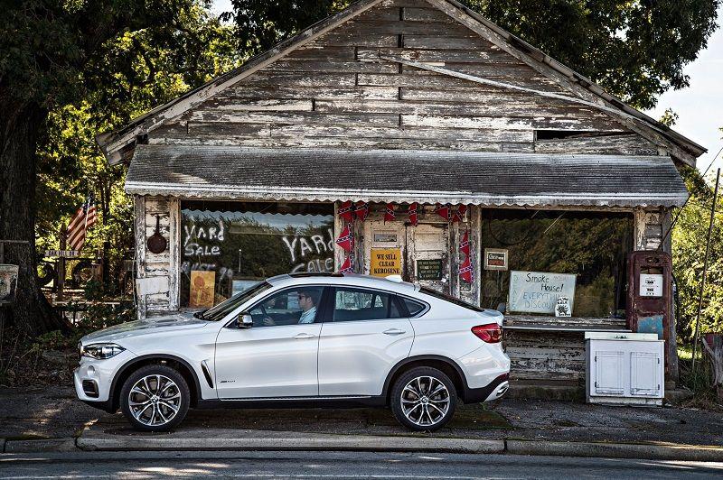 BMW X6 seitlich