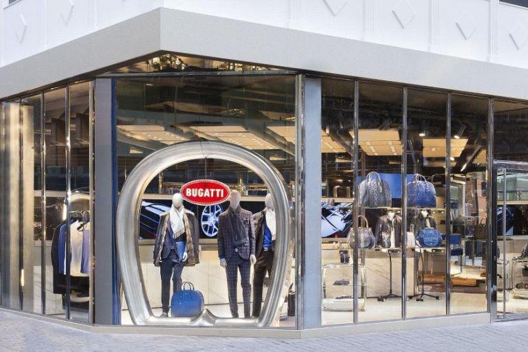 Bugatti eröffnet heute erste Lifestyle Boutique