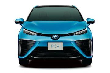 """Toyoto stellt neues Brennstoffzellenfahrzeug """"Mirai"""" vor"""