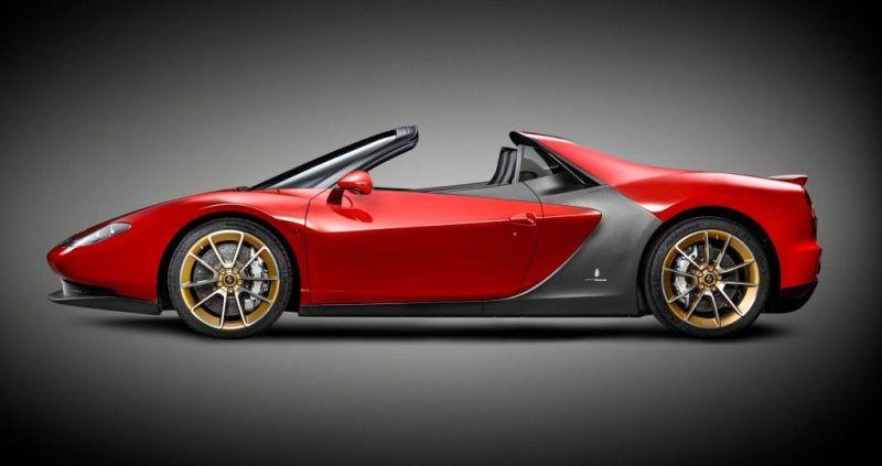 Ferrari Sergio laterale