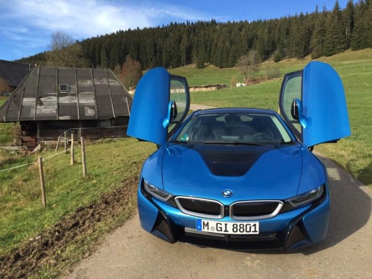 Der BMW i8 – Hybrider Hingucker mit Karbonfahrgastzelle