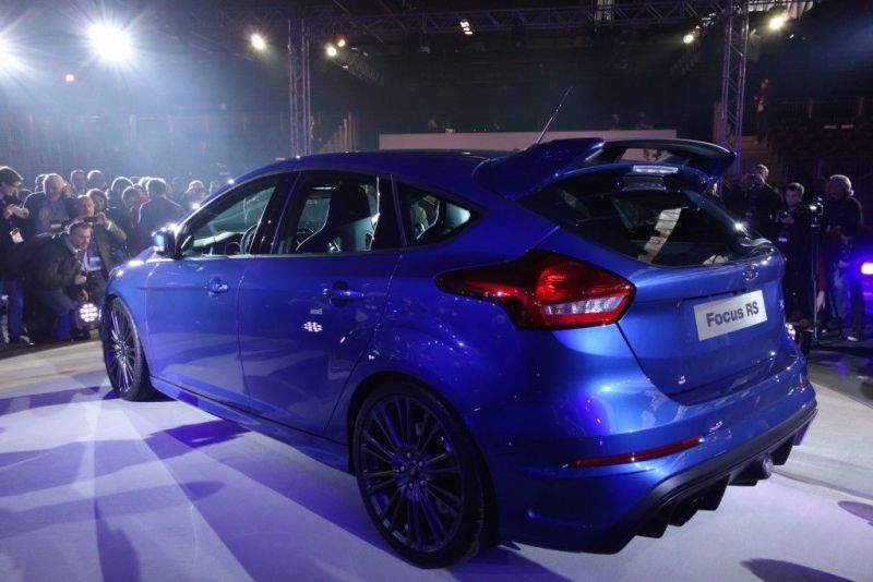 Ford Focus RS 2015 Seite