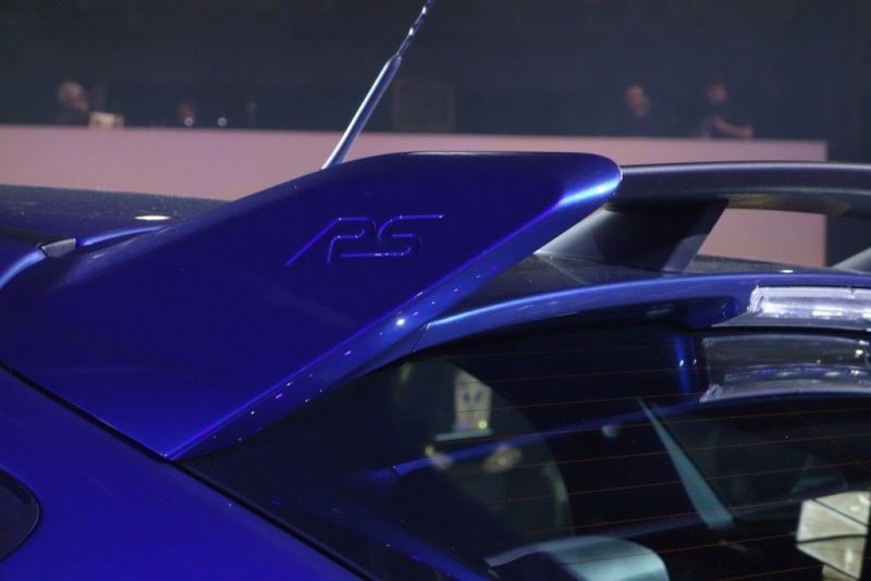 Ford Focus RS 2015 Spoiler