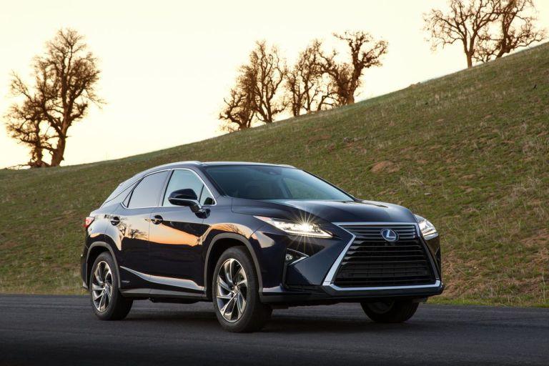 New York Motor Show 2015: Lexus RX mit mutigem Design und weiterentwickeltem Hybridantrieb