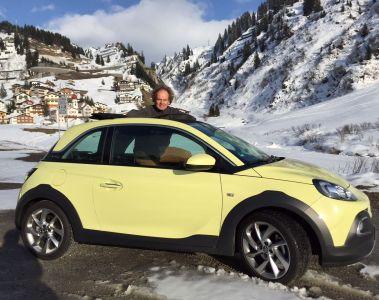 Die gezähmte Wildheit eines Drei-Tage-Bartes: Opel Adam Rocks, der Frauenheld