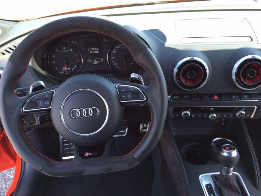 Audi RS3 Innenraum