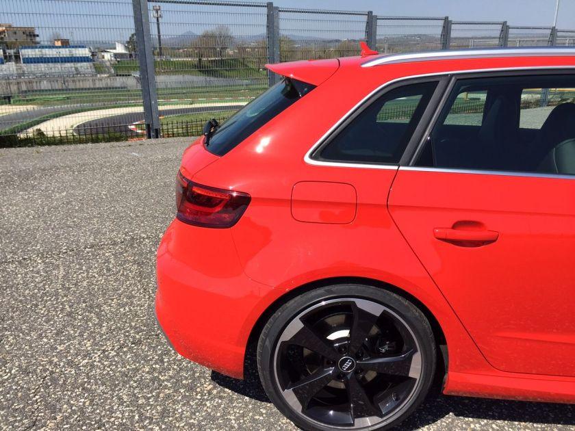 Audi RS3 Hinterteil
