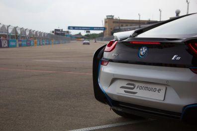 Formula E Berlin 2015 BMW i8 Rennstrecke