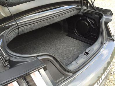 Ford Mustang Kofferraum 2015