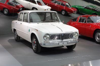 Alfa Romeo Museum 2015 Guilia TI Super