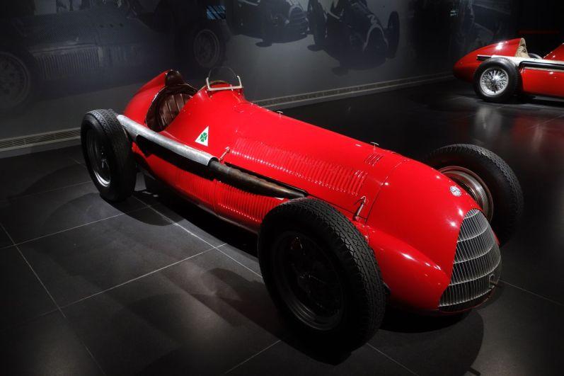 Alfa Romeo Museum 2015 Rennwagen
