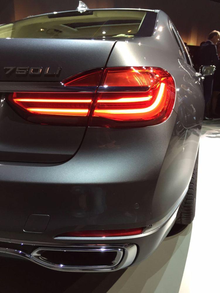 BMW 7er 2015 Heckscheinwerfer