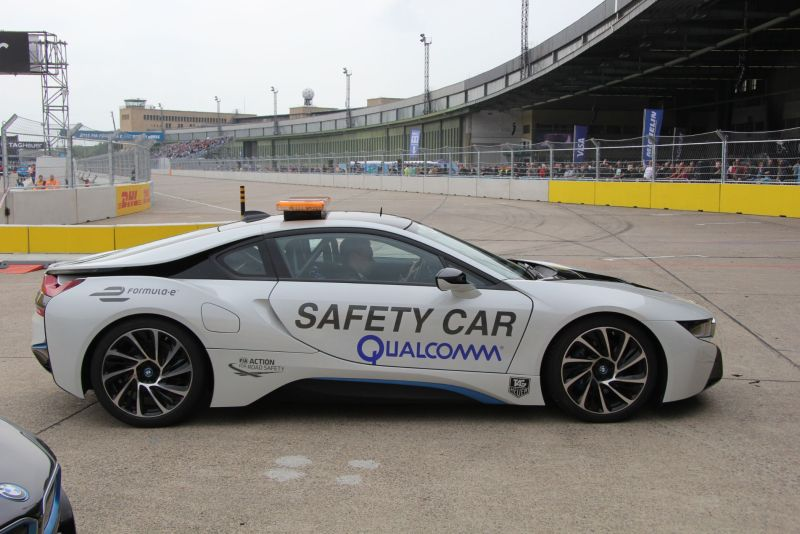 Formula E Safety Car Qualcomm