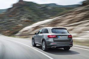 Mercedes GLC Weltpremiere 2015 Heck