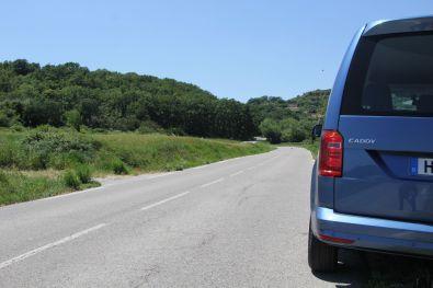 VW Caddy 2015 Acapulcoblau Metallic