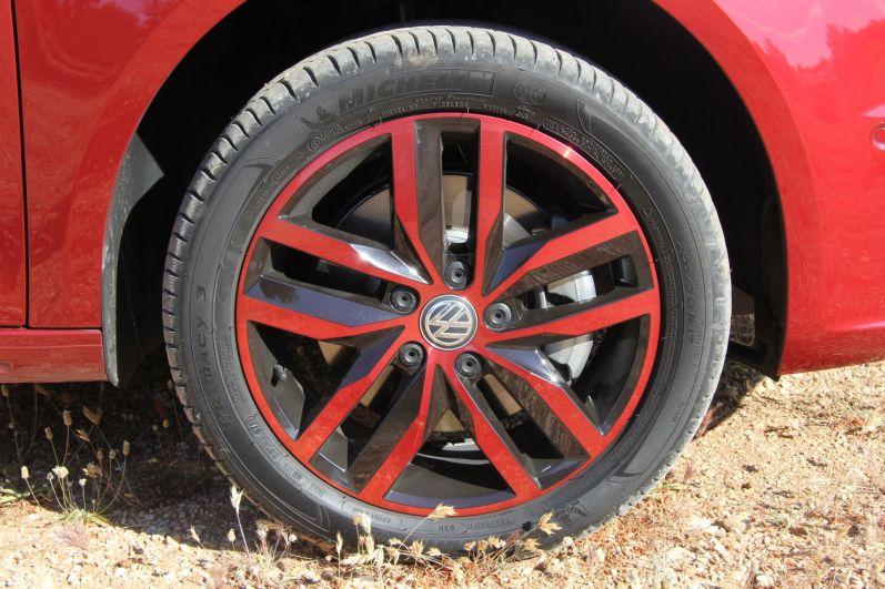 VW Caddy 2015 Generation Four Alufelgen
