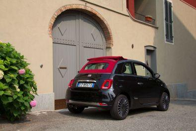 Fiat 500 2015 Heck Vorort Turin