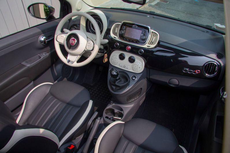 Fiat 500 2015 Interior Innenraum