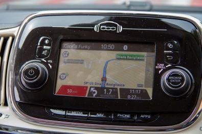 Fiat 500 2015 Navigation
