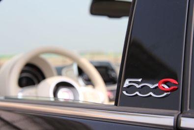 Fiat 500C 2015 Schriftzug