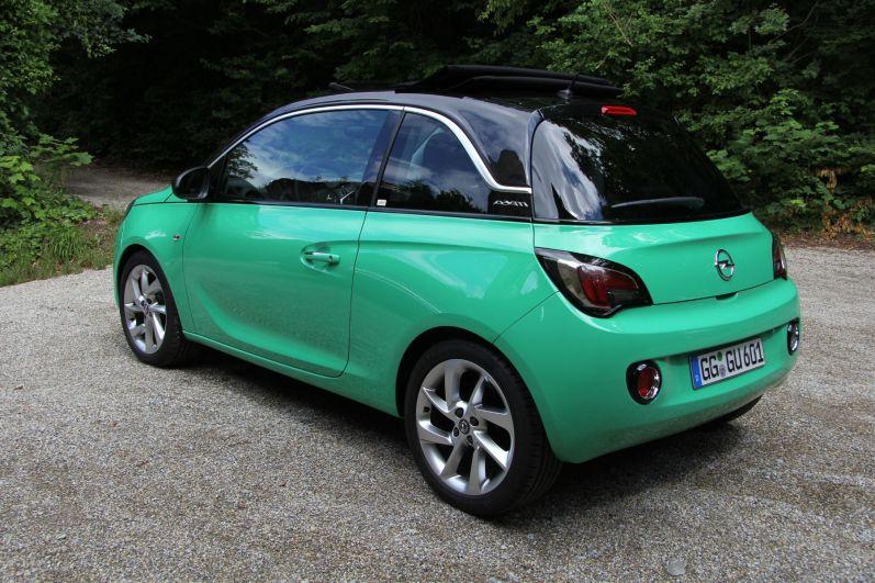 Opel Adam Open Air Marangu Green