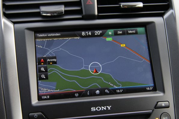 Ford Mondeo 2015 Touchscreen Navigationssystem