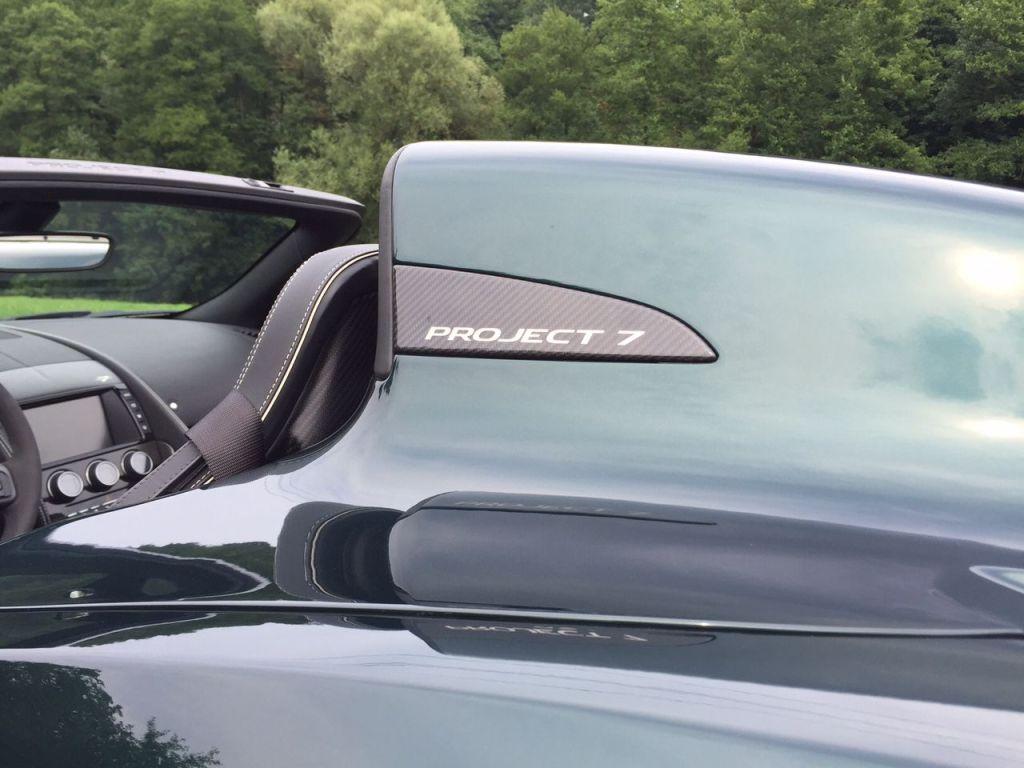 Der Jaguar F-Type Project 7 - Schnellster Serien-Jaguar aller Zeiten