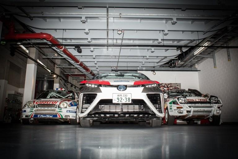 Motorsport-Premiere für den Brennstoffzellenantrieb