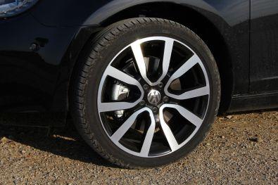 VW Golf Cabrio 2015 18 Zoll Leichtmetallfelgen