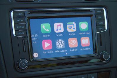 VW Golf Cabrio 2015 Apple CarPlay