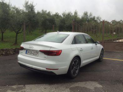 Audi A4 2015 Heckansicht