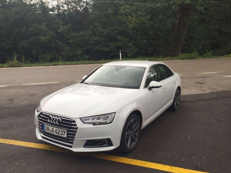 Audi A4 2015 Vorderansicht