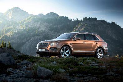Bentley Bentayga 2015 Seitlich