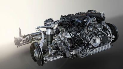 Bentley Bentayga 2015 W12 Motor