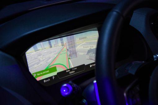 Jaguar F-Pace 2015 Display Cockpit