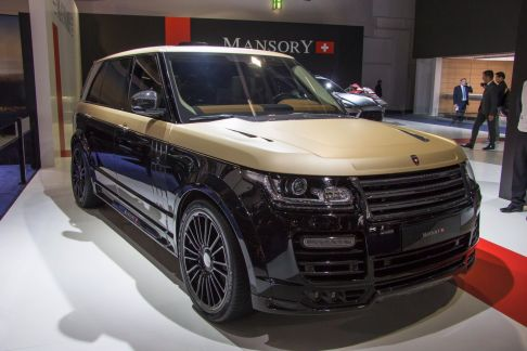 Mansory Range Rover Autobiography Extended IAA 2015 Front