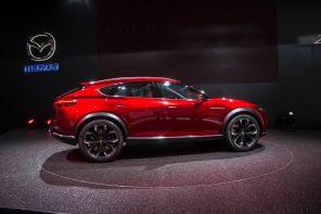 Mazda Koeru Studie 2015 Seitenansicht