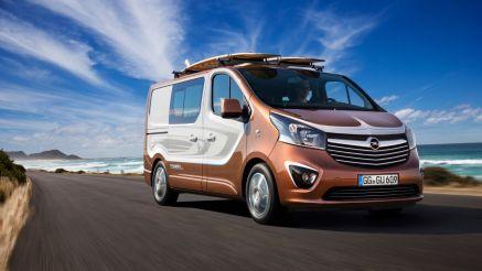 Opel Vivaro Surf Concept 2015 Front
