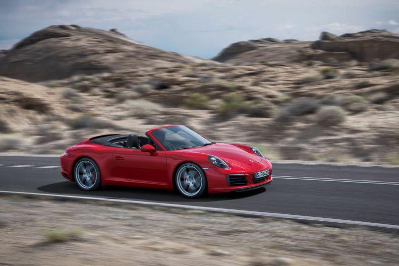 Porsche Carrera 911 Facelift 2015 Cabrio
