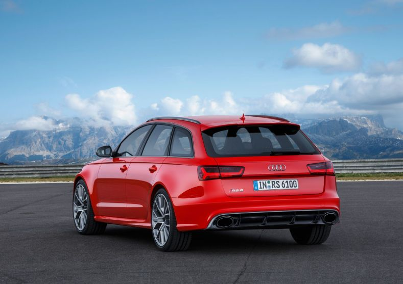 Audi RS6 Avant Performance 2015 Heck