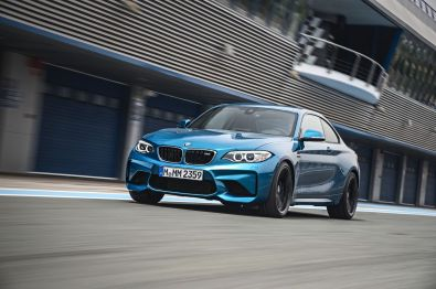 BMW M2 Coupe 2015 Front Dynamisch