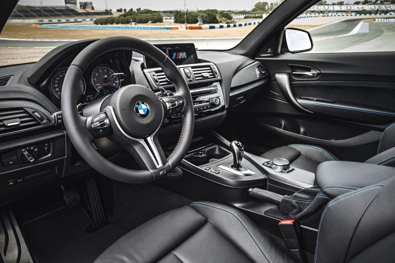 BMW M2 Coupe 2015 Innenraum