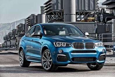 BMW X4 M40i 2015 Frontansicht
