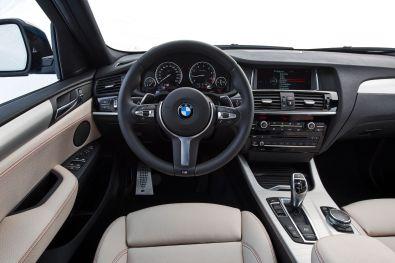 BMW X4 M40i 2015 Innenraum Interieur