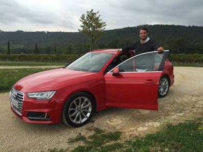 Audi A4 Avant mit Autotester Jan Weizenecker 2015