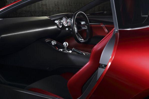 Mazda RX-Vision Tokyo 2015 Concept Car Innenraum