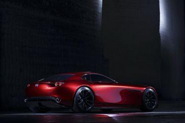 Mazda RX-Vision Tokyo 2015 Studie Heck